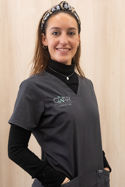 EVA VIDAL - Veterinary surgeon specialized in Small Animal Rehabilitation.